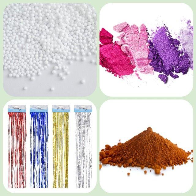 Декоративные ингредиенты для слайма